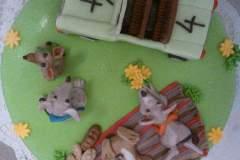 Dětský dort č. 16