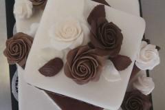 Svatební dort č. 5