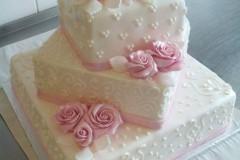 Svatební dort č. 6