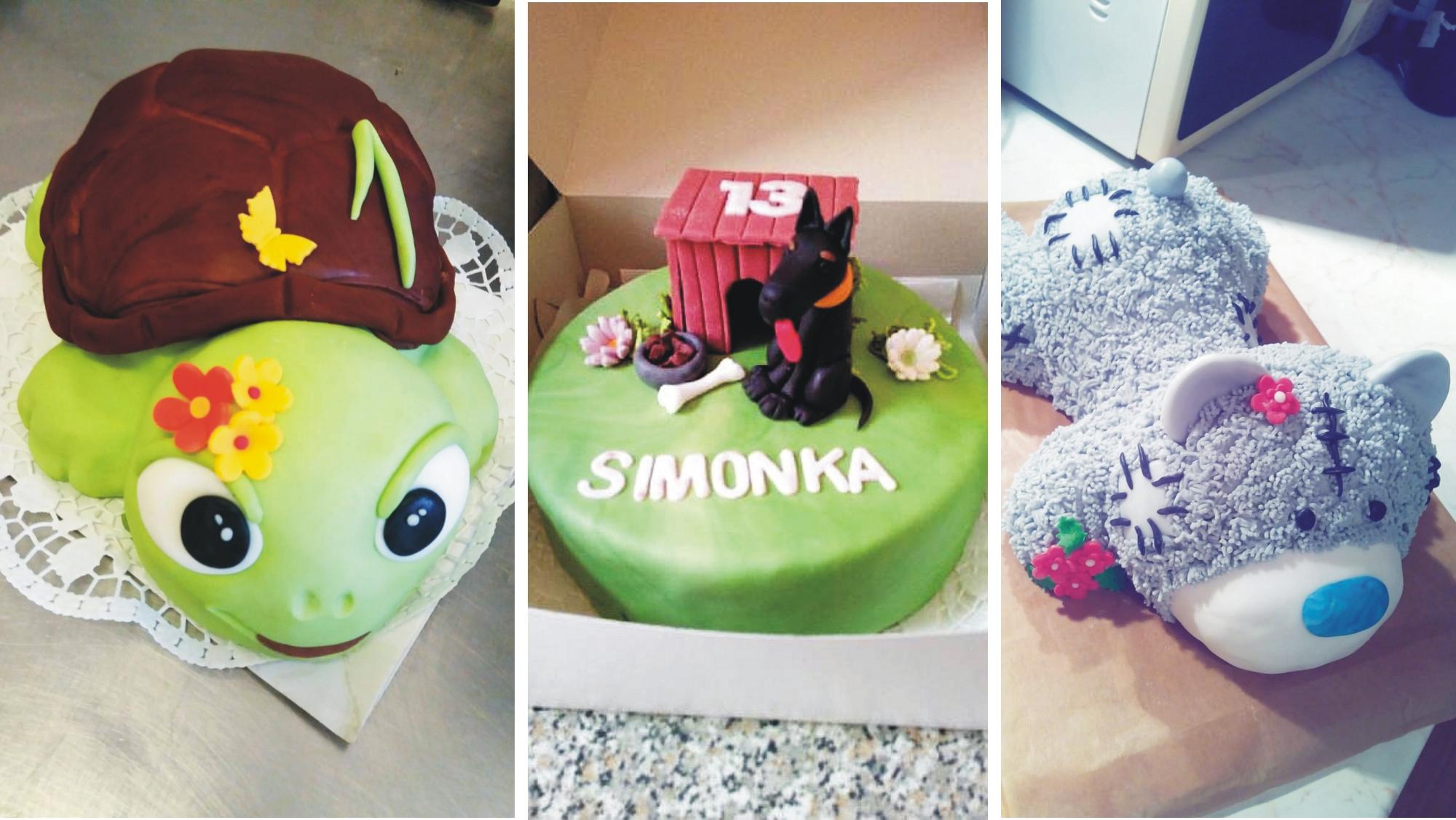 Nápady na netradiční dorty nám nechybí